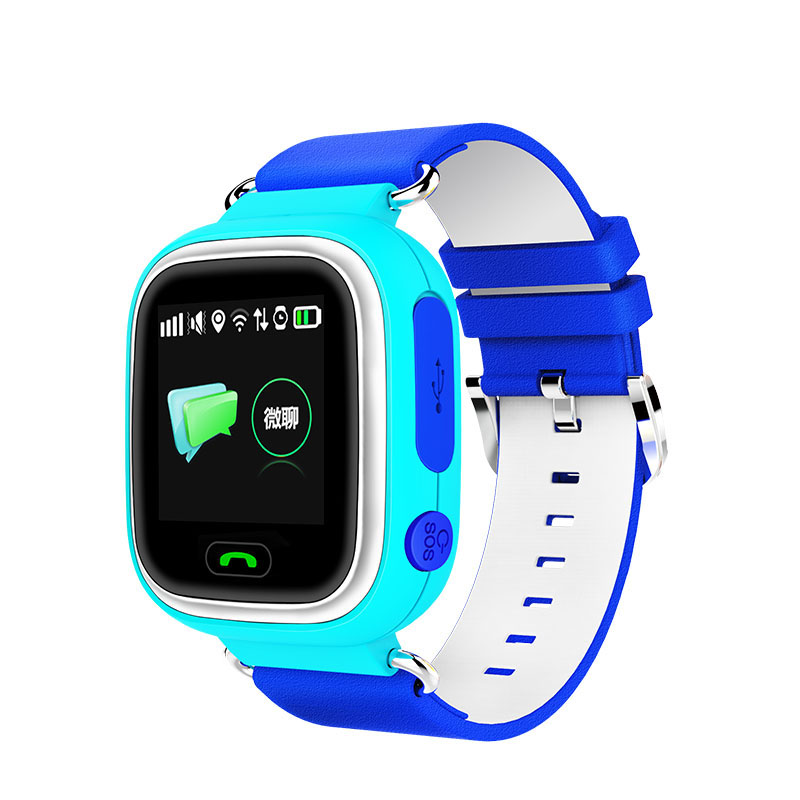 GPS smart watch baby watch Q90 with Wifi touch screen SOS Call Location DeviceTracker for Kid Safe Anti-Lost Monitor PK Q50 Q750