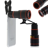Zerosky 12x Optical Zoom HD Telescope Camera Lens Telephoto For IPhone Samsung Telephoto Len