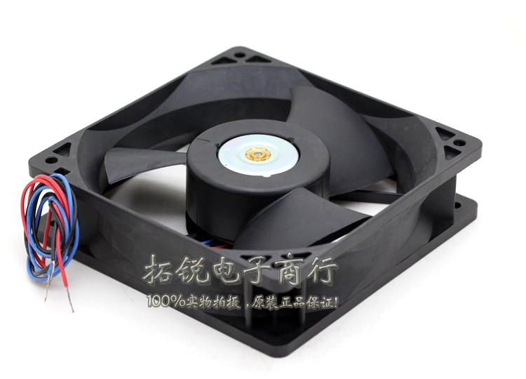 Delta Electronics EFB1248VHF R00 Server Square Cooling Fan DC 48V 0.33A 1x1x32mm 3-wire