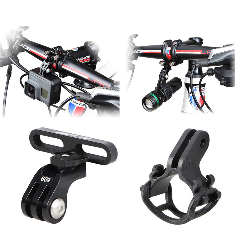 Bicycle Support Stand Handlebar Stem Mount Bike Light Holder for GoPro Hero 7 6 5 4 3 Xiaomi yi 4K Sjcam EKEN Camera AccessoriesBicycle Support Stand Handlebar Stem Mount Bike Light Holder for GoPro Hero 7 6 5 4 3 Xiaomi yi 4K Sjcam EKEN Camera Accessories