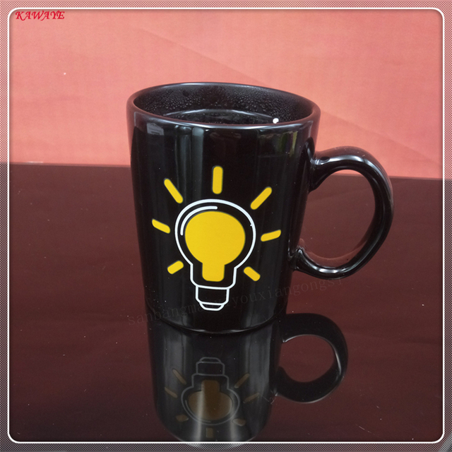 1pcs heat sensitive thermochromic cup creative color changing cup