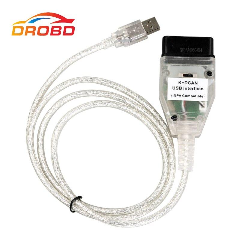 D'origine FT232RQ Câbles PCB Pour B-M-W INPA K DCAN K + PEUT OBD2 USB INPA Compatible Avec FT232RQ Mieux Que FT232RL Puce