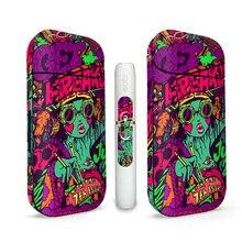 Decalgirl новая и модная наклейка для электронной сигареты IQOS, наклейка для кожи, виниловая, идеально подходит, не Пузырьковая
