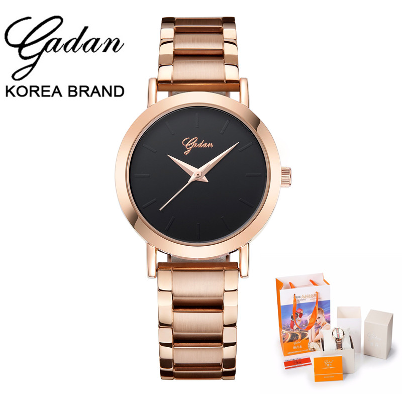 2017 YADAN High Quality Watch Relogio Feminino Luxury Top Brand Women Dress Watches Steel Quartz Wristwatches Reloj Mujer Clock top ochstin brand luxury watches women 2017 new fashion quartz watch relogio feminino clock ladies dress reloj mujer