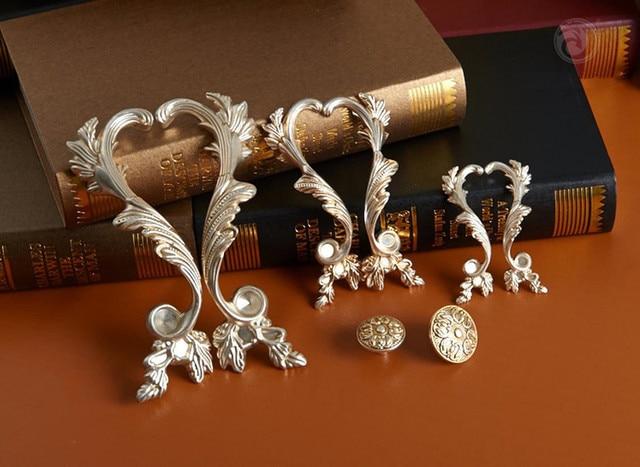 Pairs Dresser Pulls Phoenix Antique Silver Drawer Pulls Handles