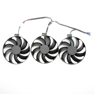 Image 2 - 3pcs/set T129215SU 7Pin GPU Card Cooler Fans For ASUS ROG STRIX GeForce RTX 2080 2080 Ti GAMING RTX2080 RTX2080Ti Fan