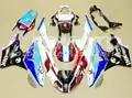 Nuevos carenados ABS aptos para BMW s1000cr 09 12 13 14 1000hr 2009 2014 Kit de carenado de inyección de motocicleta Kit de carenado de carrocería set de tinta
