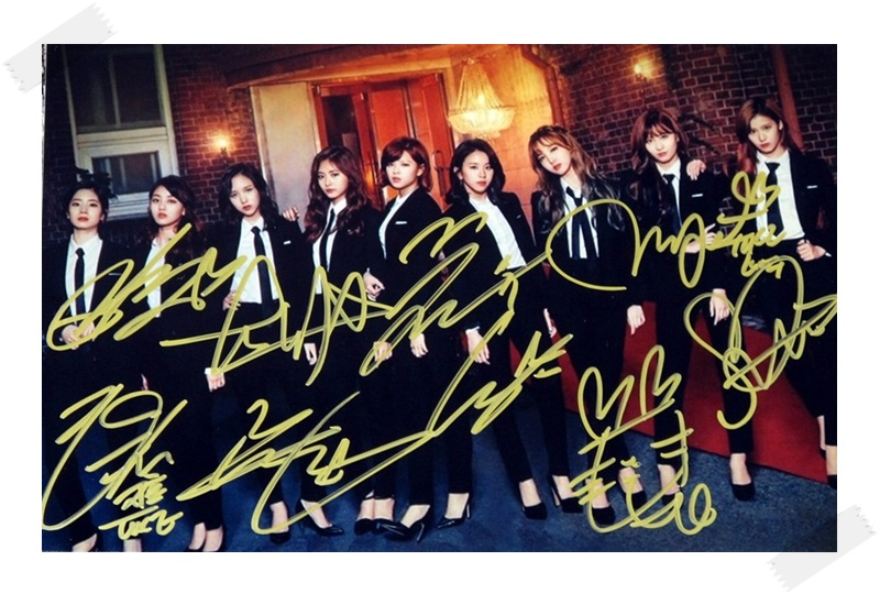 signed TWICE  autographed group photo Twicetagram  6 inches freeshipping 112017B freeshipping mma7260 7361 enc 03 photoelectric group