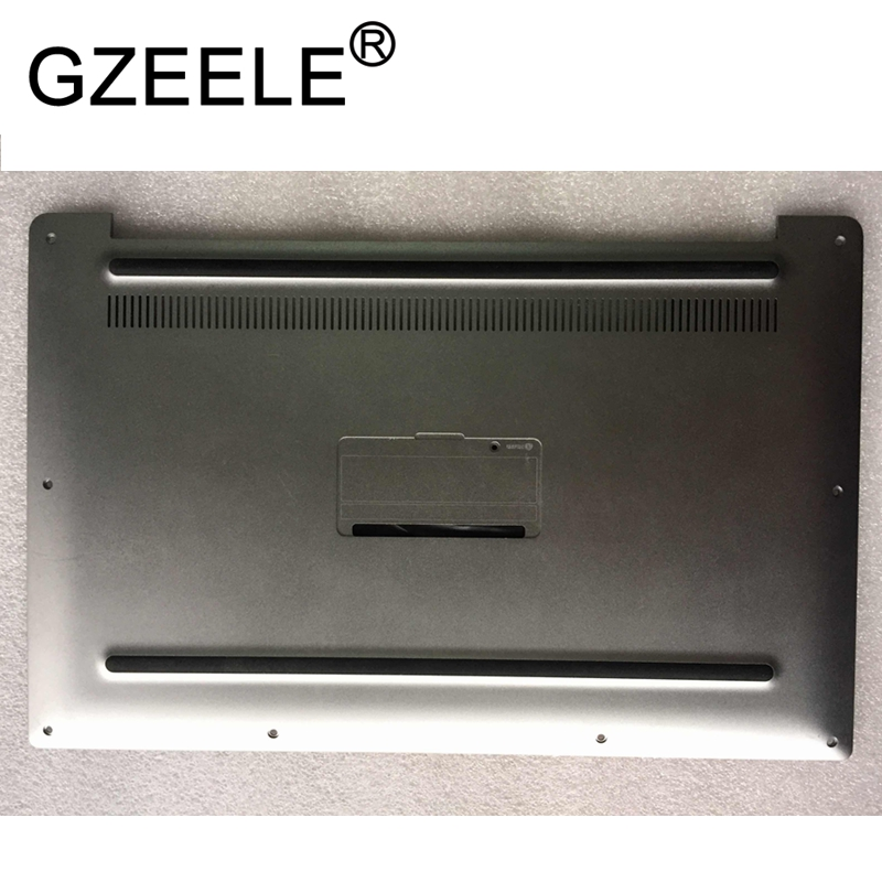 GZEELE new Base Bottom case Bottom Cover Assembly FOR Dell XPS13 9343 series 57JH8 057JH8 lower case silver gzeele new laptop bottom base case cover for dell xps 15 l501x l502x series lower case pn 70fm3 070fm3 assembly silver