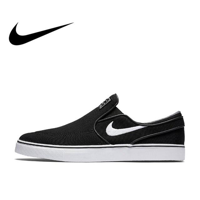 be9926b1cb Official Original NIKE Nike SB Zoom Stefan Janoski Slip-On CNVS Men's  Skateboarding Shoes Sneakers Breathable Hard-Wearing Flat