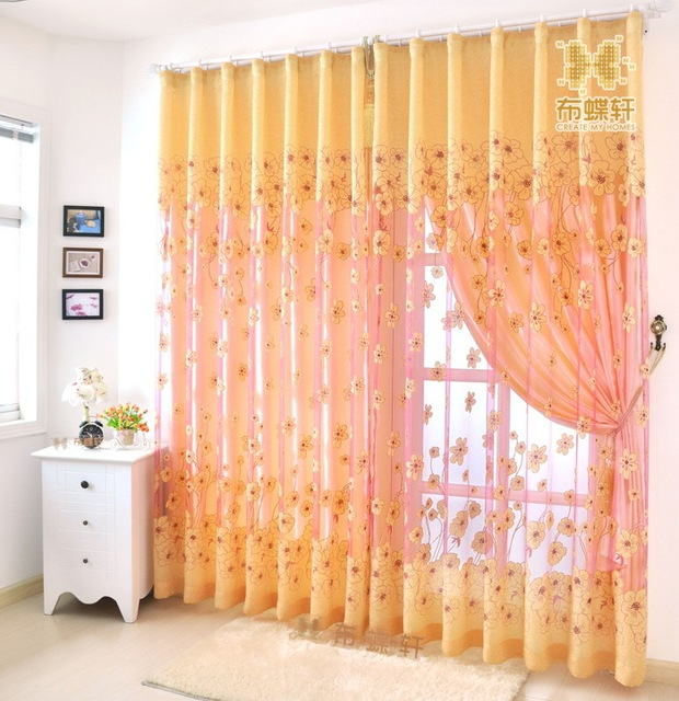 2014 cloth tulle rustic quality carved screens curtain four season flower home decor curtains for living - Home Decor Screens