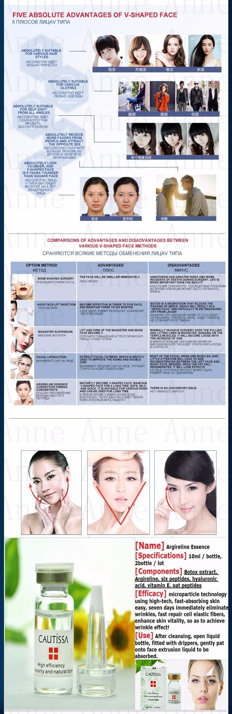US $9 9 45% OFF|3 pcs Argireline Liquid Anti Wrinkle Anti Aging Face Lift  Serum 10ml Hyaluronic Acid Liquid Ageless Cream Facial Lifting Firming-in