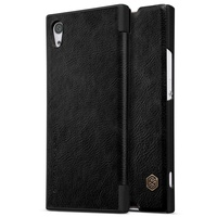 NILLKIN For Sony Xperia XA1 Leather Cases Qin Series Awakening Smart Leather Flip Phone Cover Case