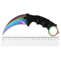 2017 Brand Knife Cs Go Counter Strike Karambit Knife Fidget Spinner Handmade Fighting Claw Knife Tactical