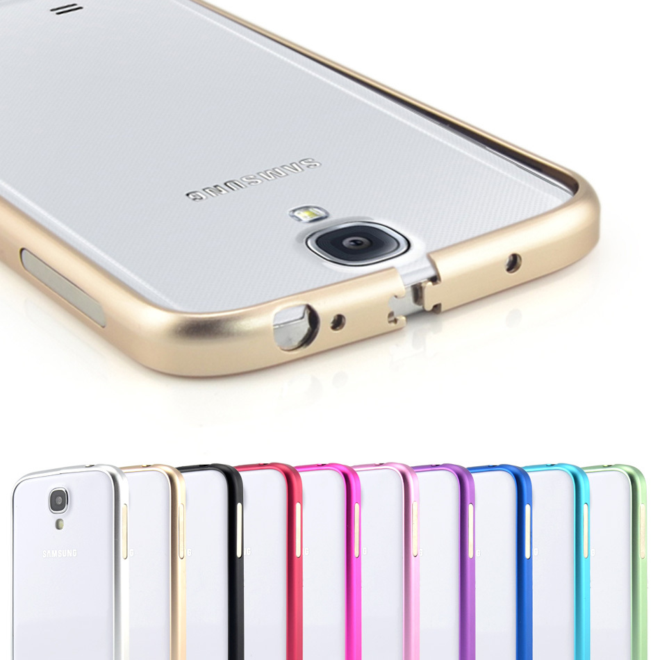 Aliexpress com buy cinkeypro ultrathin aviation frame s4 phone cover ultra thin metal luxury aluminum bumper case for samsung galaxy s4 i9500 from