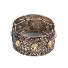 Newest 5 Crystal Pulsera hombre Fashion Turkish Men Bracelet Size Adjustable Cuff Bracelet Bangles For Women Jewelry Accessory