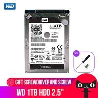 Western Digital WD Black 1TB 2.5'' HDD HD SATAIII 9.5mm 7200 RPM Internal Hard Disk Drive for Notebook Laptop WD10JPLX