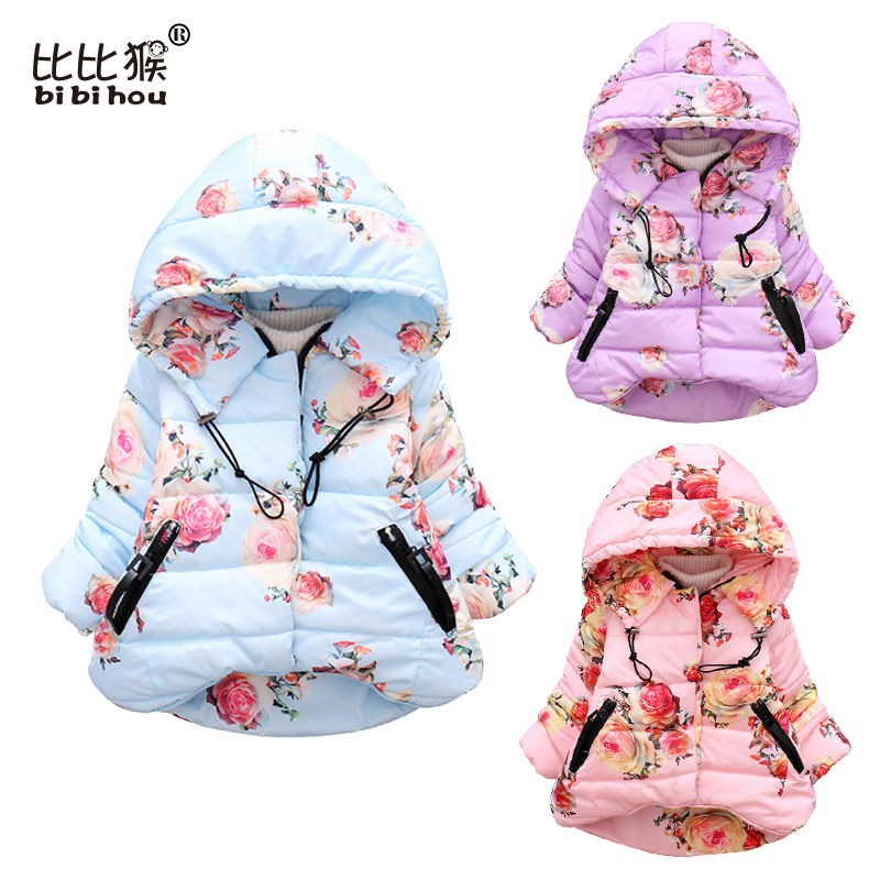 Hot sale baby winter children Coats New style long sleeve