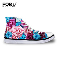 2015 New Fashion Women High Top Shoes Casual Floral Shoes For Women Canvas Shoes Zapatos Mujer