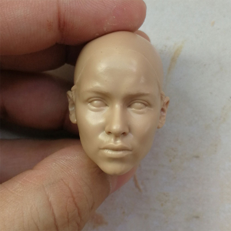 1/6 Daenerys Targaryen Unpainted Head For 12'' Female Body