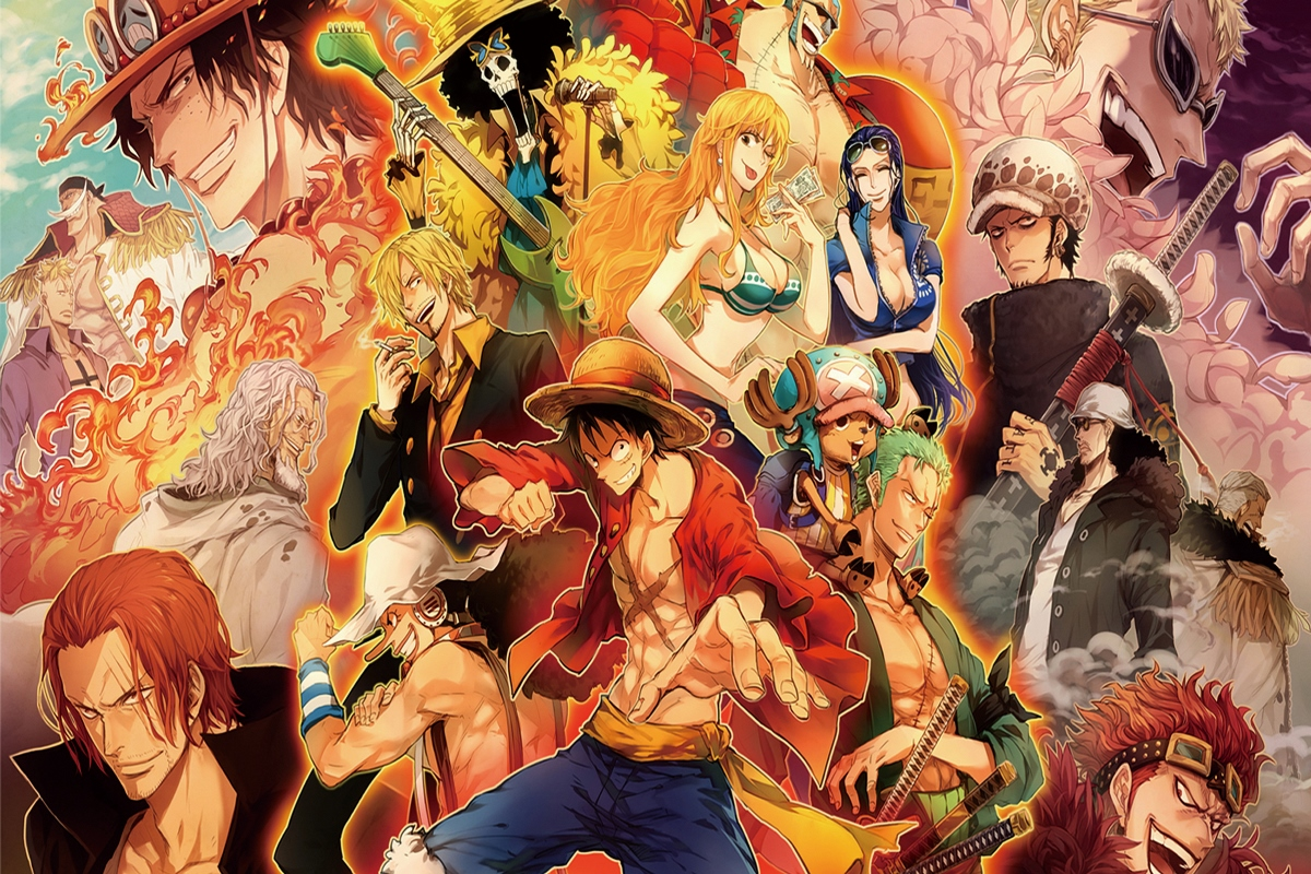 Newgate franky monkey d luffy nami nico anime one piece all characters kb171 room home wall modern art decor wood frame poster in painting calligraphy