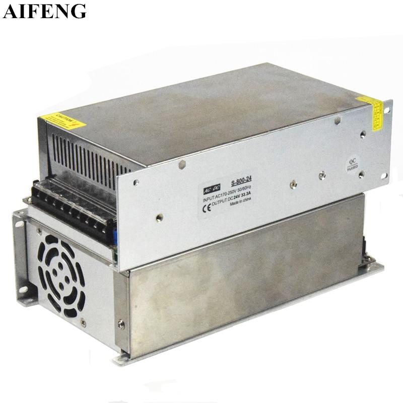 AIFENG Led Power Adapter AC 170V-250V To DC 12V 24V 48V Led Driver Power Supply 800W Lighting Transformers For Led Strip Lights 20pcs lot u620tg to252