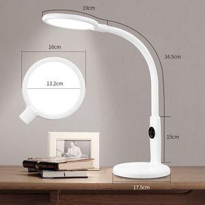 Image 5 - โคมไฟตั้งโต๊ะแบบยืดหยุ่นTouchตารางโคมไฟสำหรับห้องนั่งเล่นสก์ท็อปพับได้Dimmable EyeการศึกษาโคมไฟLed Light