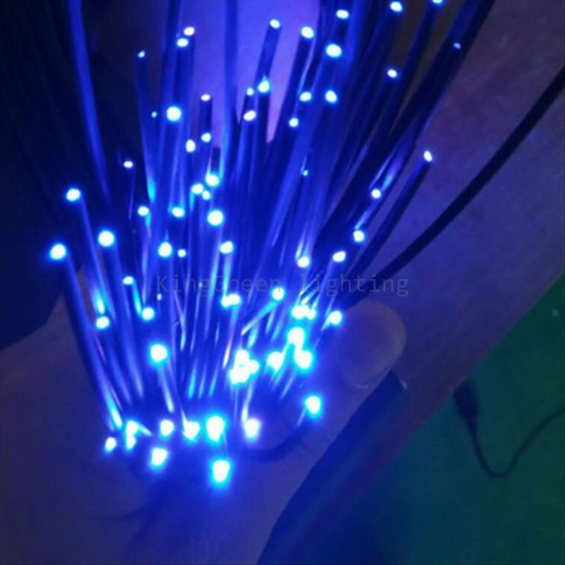 50PCS X 2Meter X 1.0mm outer 2.2mm diameter black PMMA end glow plastic optic fibre cable free shipping free shipping 50pcs mje15033g 50pcs mje15032g mje15033 mje15032 to 220