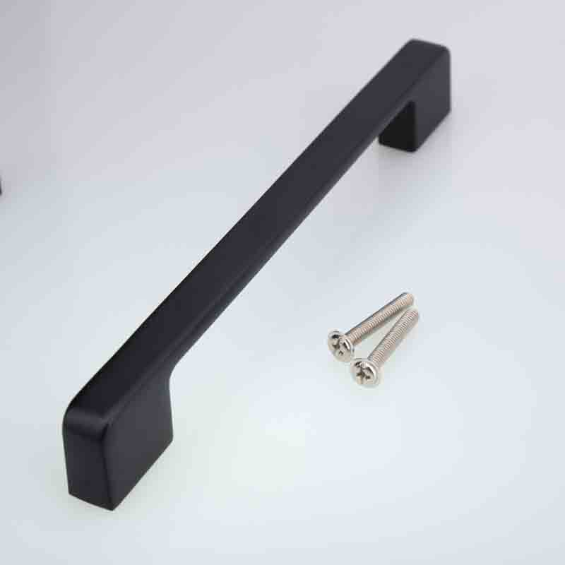 128mm modern simple black furniture handles black kitchen cabinet dresser door handles antique black drawer pulls knobs 5 modern simple invisible cabinet door knobs