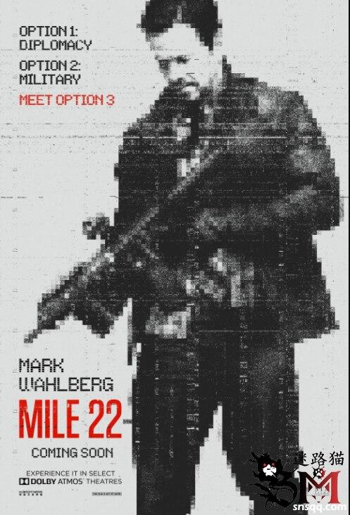 《五路追杀令》的彼得·博格和《突袭》的伊科·乌艾斯强强联合《22英里》