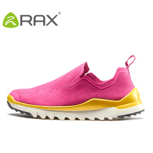 Suede Leather Sneakers Women Walking Shoes High Quality Eva Damping Outdoor Shoes 2018 RAX Female Sports Shoes B2565