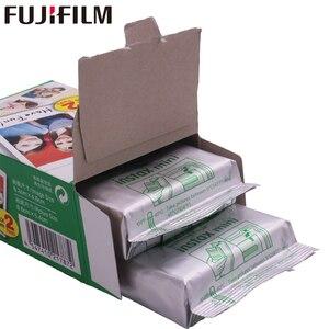 Image 2 - 10   200 גיליונות Fujifilm Instax מיני לבן סרט מיידי נייר צילום פוג י Instax מיני 11 8 9 7s 9 70 25 50s 90 מצלמה SP 1 2