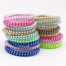 10pcs Hair Accessories Elastic Rope Hair Bands Rubber Bands Traceless Gum Tie Hairband for Women Girls Headbands Hair Ornaments 5pc lot simple elegant hair accessories for girls women pearl multilayer elastic hair bands tie rope rubber bands women hairband