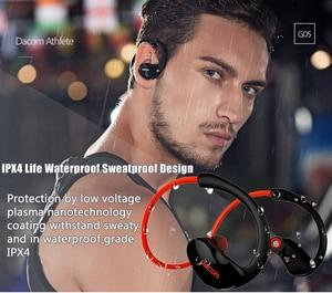 Image 3 - Originale Dacom Atleta Auricolare Bluetooth G05 Cuffie Senza Fili Sport Corsa E Jogging Auricolare Stereo con Bluetooth V4.1 Microfono