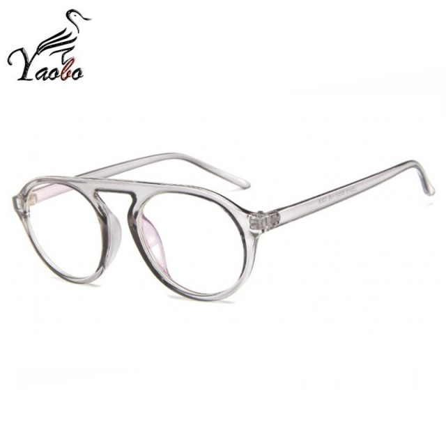 60bb4544c9 Fashion Trending Vintage optical glasses Oval eyeglasses Retro Prescription  Lens women and men clear eyewear frames