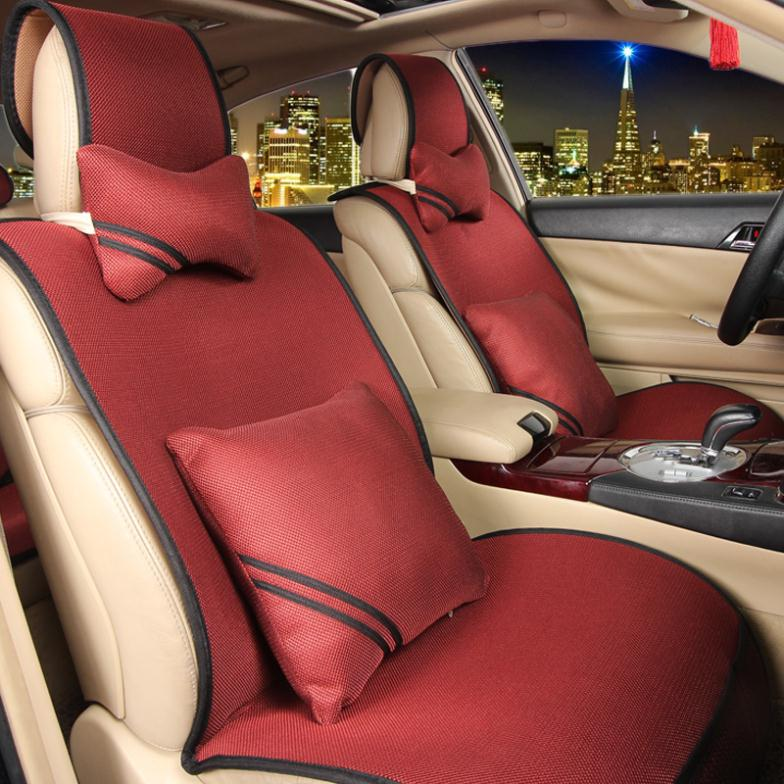 Car Seat Coves Ice Silk Free Bundled Silicone Non-Slip ,Car Cushion Covers,Car Styling For BMW Audi,Free Shi[pping ...