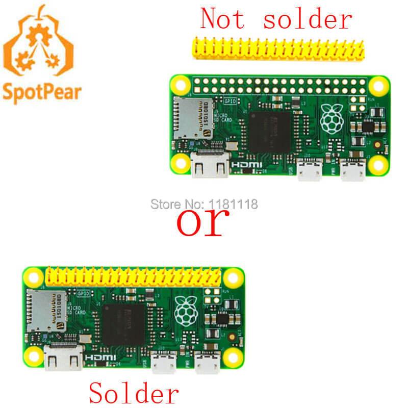 Prix pour Raspberry Pi zéro Pi0 Conseil Version 1.3 avec 1 GHz CPU 512 MB RAM Linux OS
