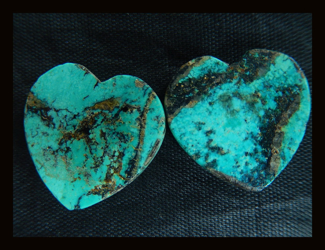 Natural Stone Sale 1pair Carved Heart Shape Turquoise Cabochon,20*20*5mm 7.2g semiprecious stones cabochon natural turquoise