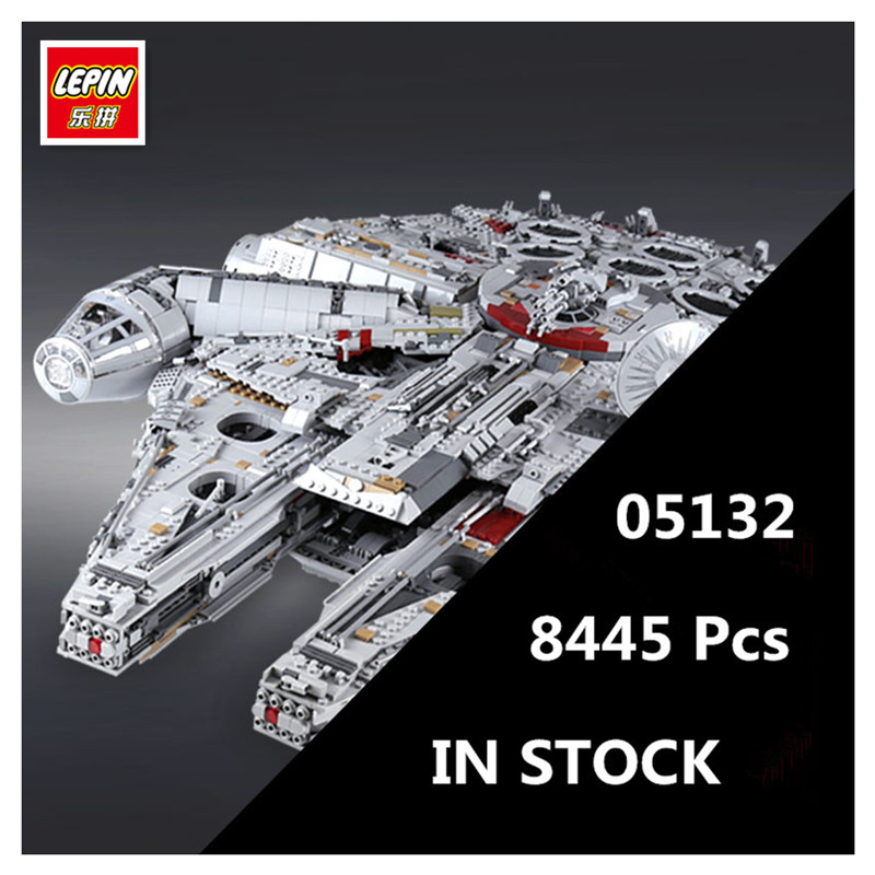 IN STOCK LEPIN 05132 8445Pcs Star Series Wars Ultimate Collector's Model Destroyer Building Bricks Children Toys with 75192 lepin 05132 star series wars new ultimate collector s model destroyer building blocks bricks children toys 8445pcs gifts 75192