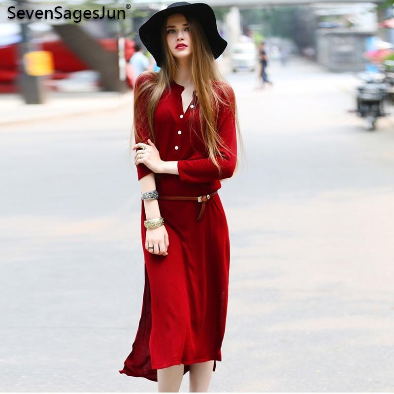 SSJ Spring Women Knitted Sweater Dress Slim Sexy Club Sweater Button Winter Elegant Party Dresses