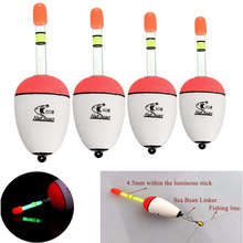 10pcs/set EVA Sea Fishing Floating Floats Can Be Inserted Luminous Sticks Pole Belly Fishing Bobber 10g-100g Flotteur Peche