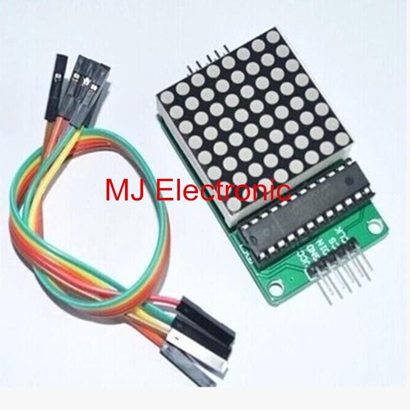max7219 dot led matrix module mcu led display control module kit for arduino in led displays. Black Bedroom Furniture Sets. Home Design Ideas