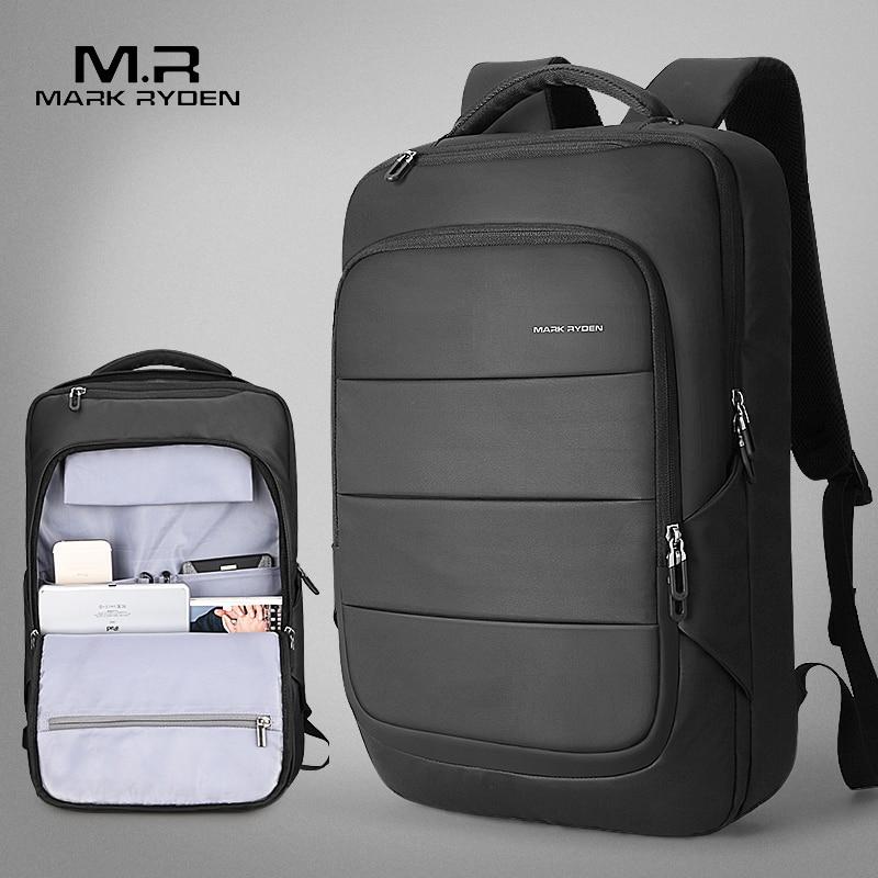 Mark Ryden 2018 Summer New Arrival Men Water Resistant Backpack USB Recharging Backpack fit for 15.6 inches Laptop