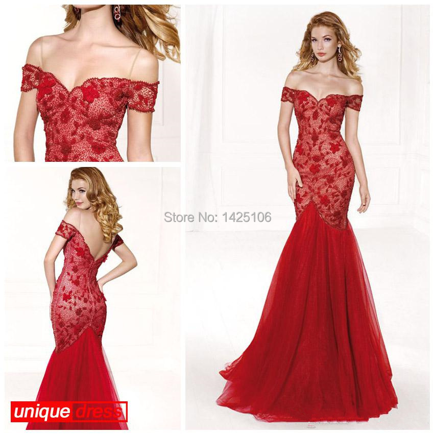Popular Red Trumpet Ball Gown-Buy Cheap Red Trumpet Ball Gown lots ...