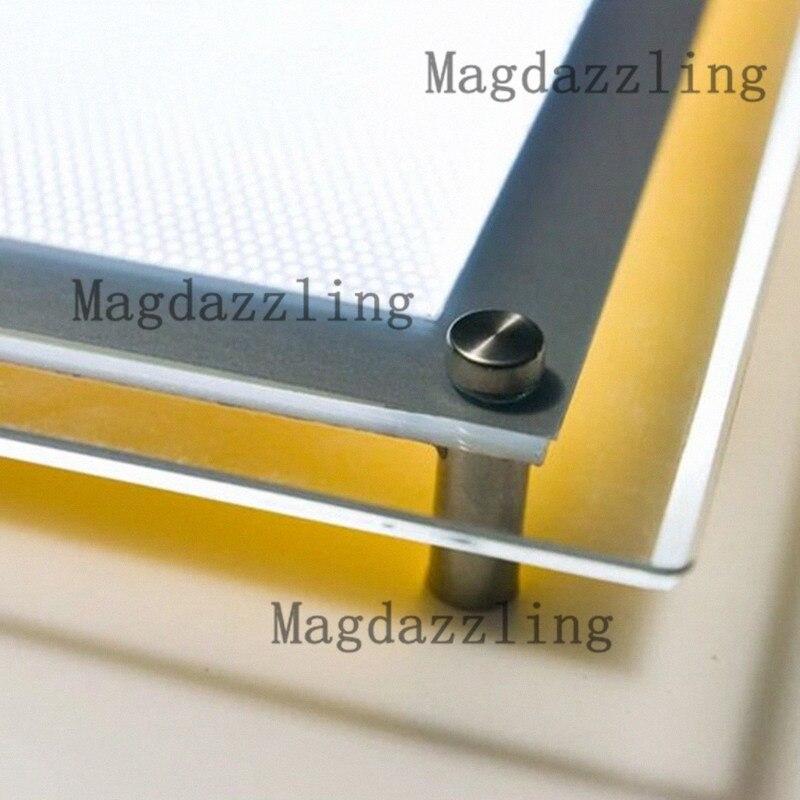 5PCS Acrylic frameless led edgelit photo lightbox,led illuminated ...