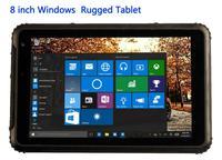 2017 Industrial Rugged Touch Tablet PC Windows 10 Slim Waterproof Phone Dustproof Shockproof 8