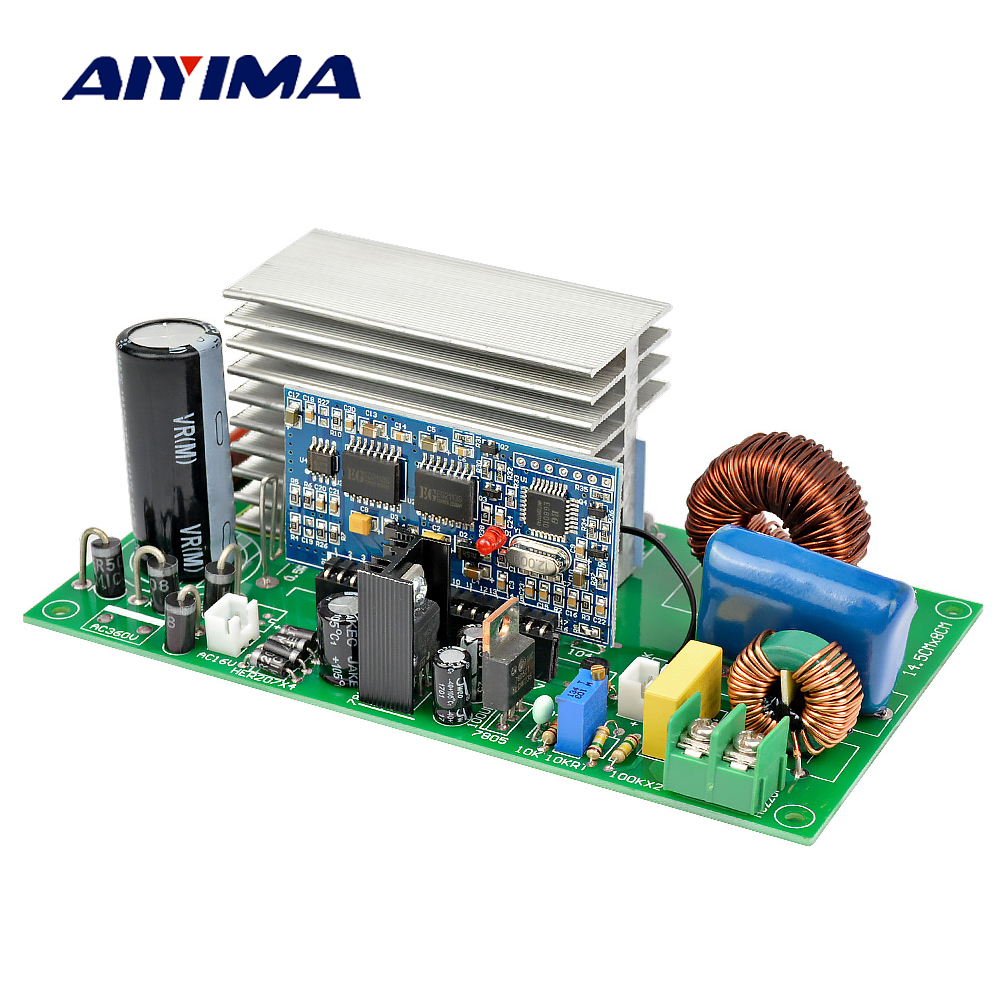 Aiyima 3000w Pure Sine Wave Power Frequency Inverter Board Dc 24v How To Make A Homemade 2000 Va Circuit Electronic 1 Pcs 500 W Dc380v Ac16v Self Contained