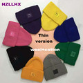 HZLLHX 2016 New fashion smile face women winter hats unisex caps 7 colors mens hat Ski snowboard super warm Free Shipping
