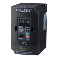 220V 0.75KW Single Phase input and 220V 3 Phase Output Frequency Converter / Adjustable Speed Drive / Frequency Inverter / VFD