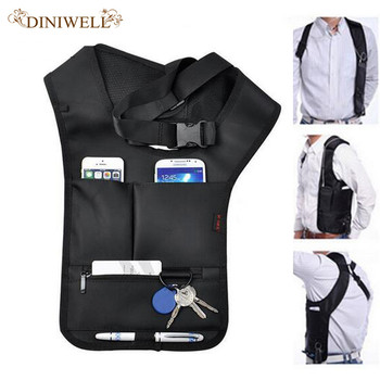 DINIWELL  Travel Anti-Theft Safety Bag Underarm Shoulder Armpit Bag Pistol Holster For Airsoft  Anti-thief Pouch Pack недорого